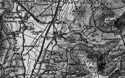 Old map of Kelbrook in 1898