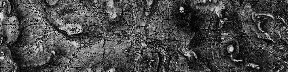 Old map of Keld in 1897
