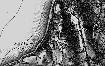 Old map of Kells in 1897