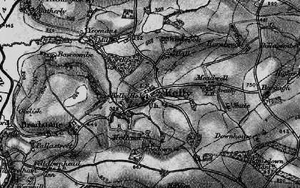Old map of Winbrook in 1896