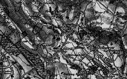 Old map of Amber Ho in 1896