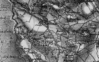 Old map of Kelynack in 1895