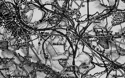 Old map of Kendray in 1896