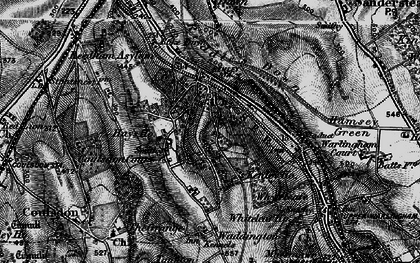 Old map of Kenley in 1895