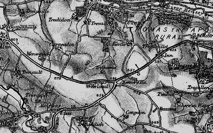 Old map of Kennards House in 1895