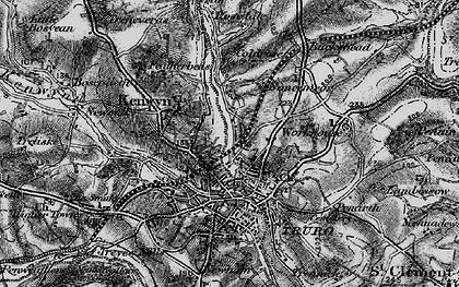Old map of Kenwyn in 1895