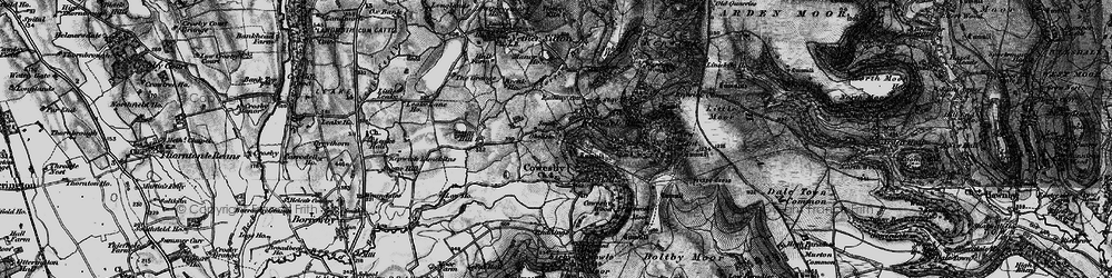 Old map of Whitestone Scar in 1898