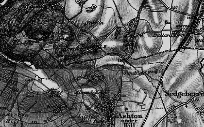 Old map of Ashton Wood in 1898