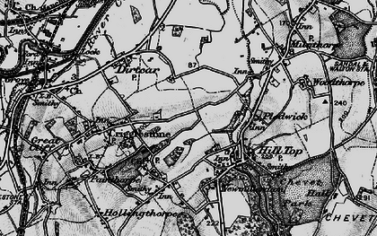 Old map of Kettlethorpe in 1896