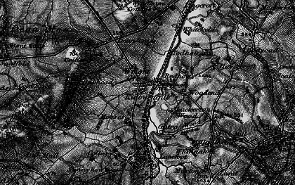 Old map of Wright Green in 1897