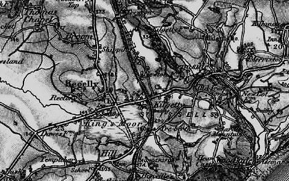 Old map of Kilgetty in 1898
