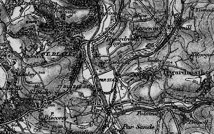 Old map of Kilhallon in 1895
