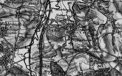 Old map of Killamarsh in 1896