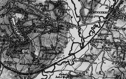 Old map of Kilmington in 1898