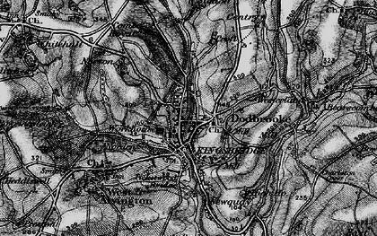 Old map of Kingsbridge in 1897
