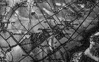 Old map of Aston Wood in 1895