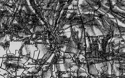 Old map of Kingston St Mary in 1898