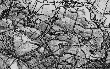 Old map of Kirby Hill in 1897