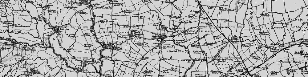 Old map of White Lily in 1898
