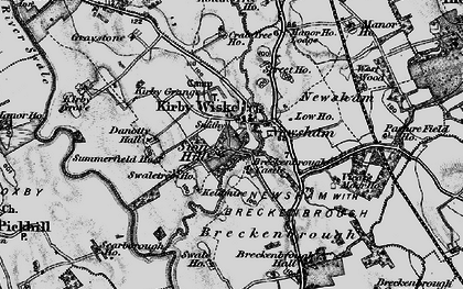 Old map of Avenue Grange in 1898