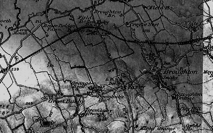 Old map of Kirkby in 1898
