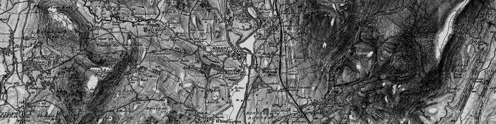 Old map of Kirkby Lonsdale in 1898