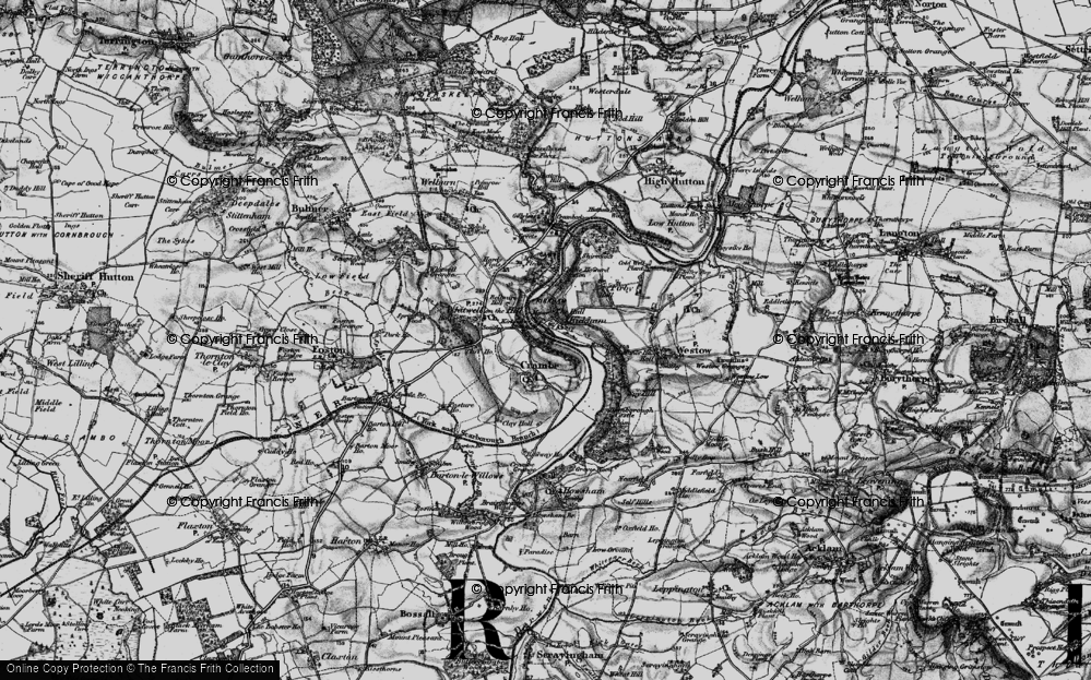 Old Map of Kirkham, 1898 in 1898