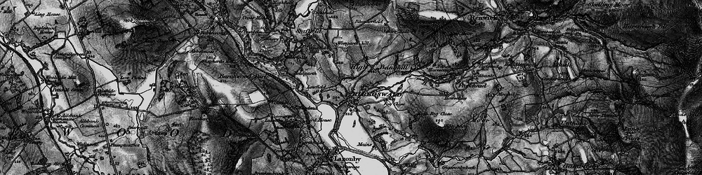 Old map of Westgarth Hill in 1897