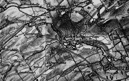 Old map of Whitridge Well in 1897