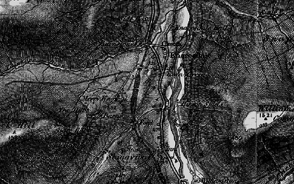 Old map of Williamston Common in 1897