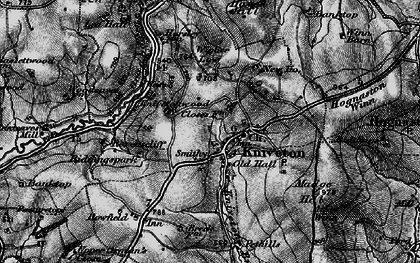 Old map of Wigber Low in 1897