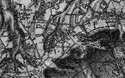 Old map of Knockholt in 1895