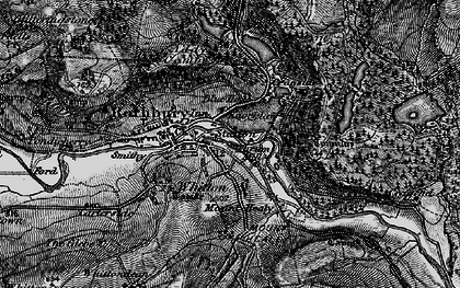 Old map of Whitefield Edge in 1897