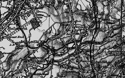 Old map of Bardsley House in 1896