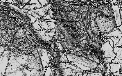 Old map of Toft, The in 1897