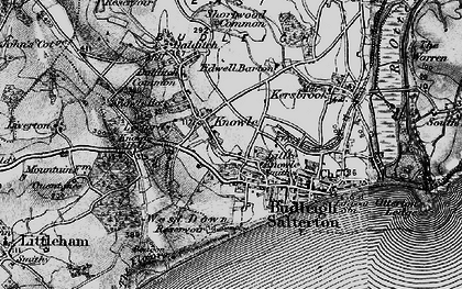 Old map of Leeford in 1898