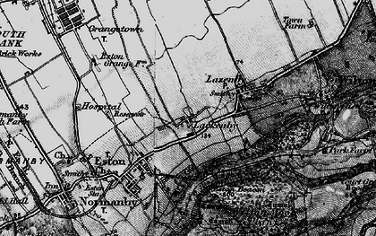 Old map of Lackenby in 1898