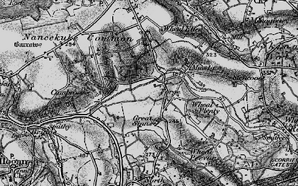 Old map of Laity Moor in 1895