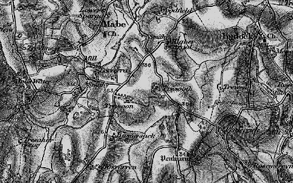 Old map of Lamanva in 1895