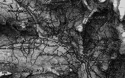 Old map of Whitestone Ho in 1897