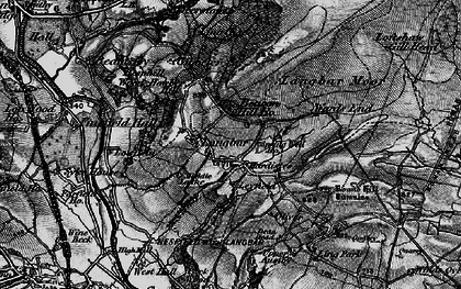 Old map of Ling Park in 1898