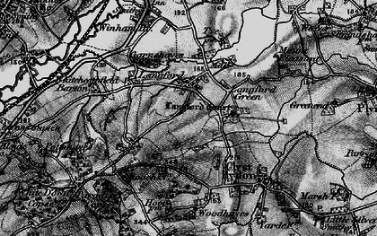 Old map of Langford in 1898