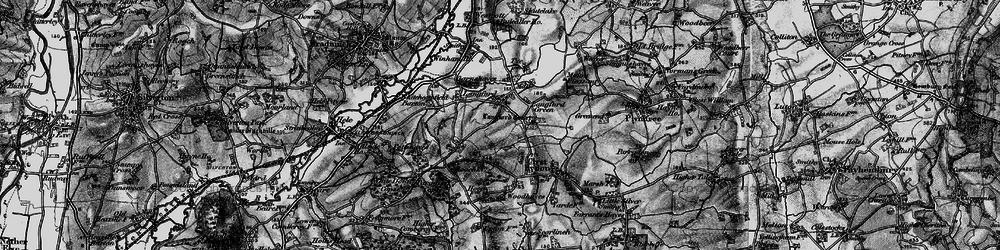 Old map of Winham in 1898