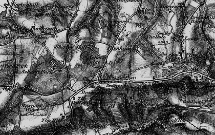 Old map of Ashurst Place in 1895
