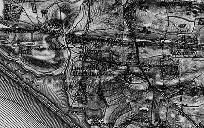 Old map of Langton Cross in 1897