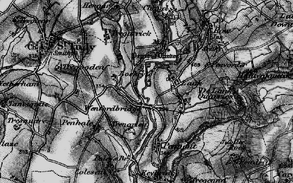 Old map of Lank in 1895
