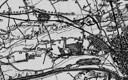 Old map of Ashton Park in 1896