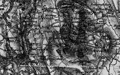 Old map of Lanehead in 1897