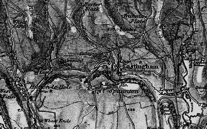 Old map of Bainwood Head in 1898