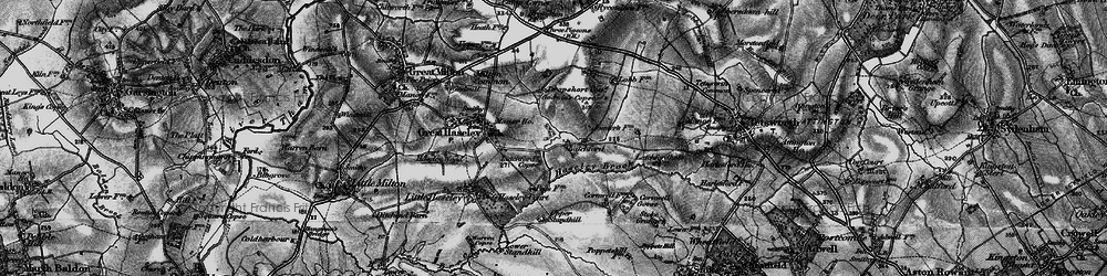 Old map of Latchford in 1895